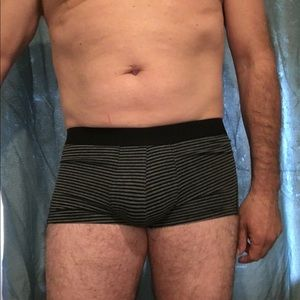 H&M Men's Trunk (M) Black and Grey